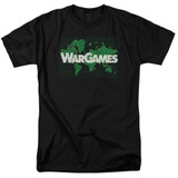 WarGames Game Board S/S Adult 18/1 T-Shirt Black