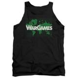 WarGames Game Board Adult Tank Top Black