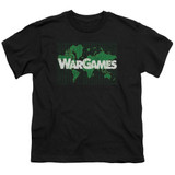 WarGames Game Board S/S Youth 18/1 T-Shirt Black