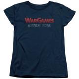 WarGames No Winners S/S Women's T-Shirt Navy