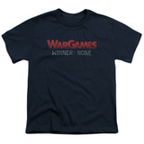 WarGames No Winners S/S Youth 18/1 T-Shirt Navy