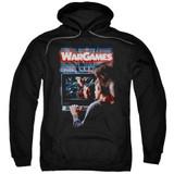 WarGames Poster Adult Pullover Hoodie Sweatshirt Black