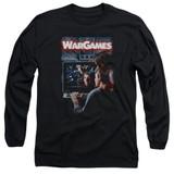 WarGames Poster Long Sleeve Adult 18/1 T-Shirt Black