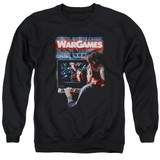 WarGames Poster Adult Crewneck Sweatshirt Black