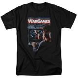 WarGames Poster S/S Adult 18/1 T-Shirt Black