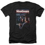 WarGames Poster Adult T-Shirt Heather Black