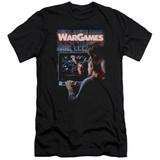 WarGames Poster S/S Adult 30/1 T-Shirt Black