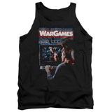 WarGames Poster Adult Tank Top Black