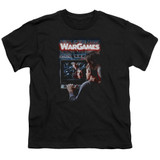 WarGames Poster S/S Youth 18/1 T-Shirt Black