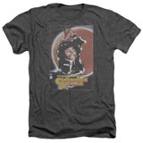 A Clockwork Orange Distressed Poster Adult Heather T-Shirt Charcoal