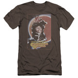 A Clockwork Orange Distressed Poster Premium Adult 30/1 T-Shirt Charcoal