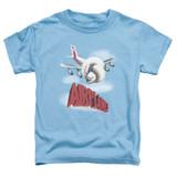 Airplane Logo Toddler T-Shirt Carolina Blue