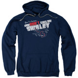 Airplane Don't Call Me Shirley Adult Pullover Hoodie Sweatshirt Navy
