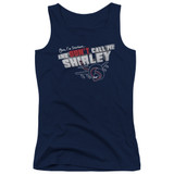 Airplane Don't Call Me Shirley Junior Women's Tank Top T-Shirt Navy
