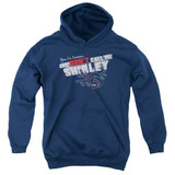 Airplane Don't Call Me Shirley Youth Pullover Hoodie Sweatshirt Navy