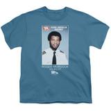 Airplane Roger Murdock Youth T-Shirt Slate