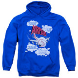 Airplane Picked The Wrong Day Adult Pullover Hoodie Sweatshirt Royal Blue