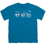 Airplane Johnny Improv Youth T-Shirt Turquoise