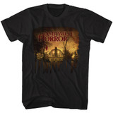 Amityville Horror The House Black Adult T-Shirt