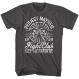 Fight Club Fist Bump Smoke Adult T-Shirt