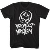 Fight Club Project Mayhem Black Adult T-Shirt