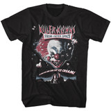 Killer Klowns From Outer Space Poster Black Adult T-Shirt