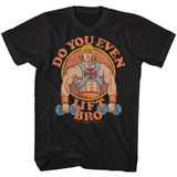 Masters Of The Universe U Even Lift Black Adult T-Shirt