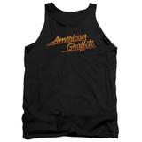 American Graffiti Neon Logo Adult Tank Top T-Shirt Black