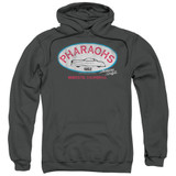American Graffiti Pharaohs Adult Pullover Hoodie Sweatshirt Charcoal
