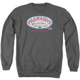 American Graffiti Pharaohs Adult Crewneck Sweatshirt Charcoal