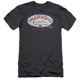 American Graffiti Pharaohs Adult 30/1 T-Shirt Charcoal
