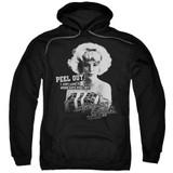 American Graffiti Peel Out Adult Pullover Hoodie Sweatshirt Black