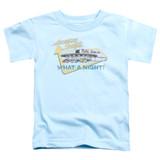 American Graffiti Mels Drive In Toddler T-Shirt Light Blue
