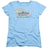 American Graffiti Mels Drive In Women's T-Shirt Light Blue