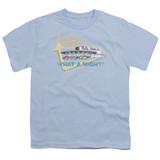 American Graffiti Mels Drive In Youth T-Shirt Light Blue