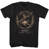 Assassin's Creed Circle Xios Black Adult T-Shirt