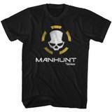 The Division Manhunt Black Adult T-Shirt