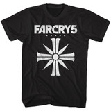 Far Cry Far Cry 5 Black Adult T-Shirt