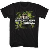 Splinter Cell Sam Fisher Black Adult T-Shirt