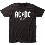 AC/DC Est. 1973 Classic Fitted Jersey T-Shirt
