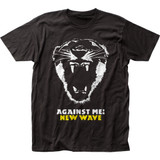 Against Me New Wave Classic Fitted Jersey T-Shirt