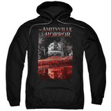 Amityville Horror Cold Blood Adult Pullover Hoodie Sweatshirt Black