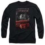 Amityville Horror Cold Blood Adult Long Sleeve T-Shirt Black