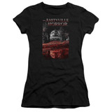 Amityville Horror Cold Blood Junior Women's Sheer T-Shirt Black