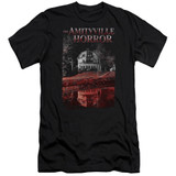Amityville Horror Cold Blood Premuim Canvas Adult Slim Fit 30/1 T-Shirt Black