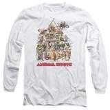 Animal House Poster Art Adult Long Sleeve T-Shirt White