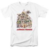 Animal House Poster Art Adult 18/1 T-Shirt White
