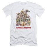 Animal House Poster Art Adult 30/1 T-Shirt White