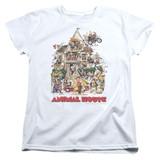 Animal House Poster Art Women's T-Shirt White