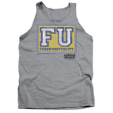 Animal House Faber University Adult Tank Top T-Shirt Athletic Heather